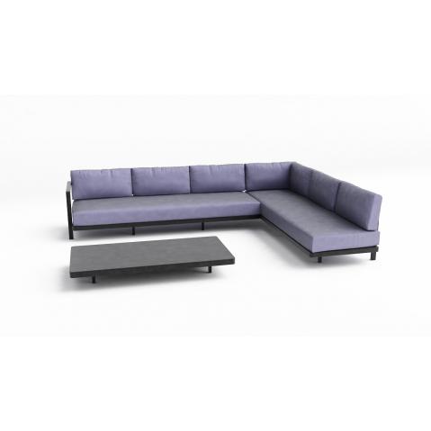 salon d 39 ext rieur alura lounge set 9 de royal botania. Black Bedroom Furniture Sets. Home Design Ideas