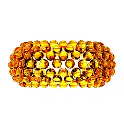 Applique CABOCHE de Foscarini grand modèle jaune