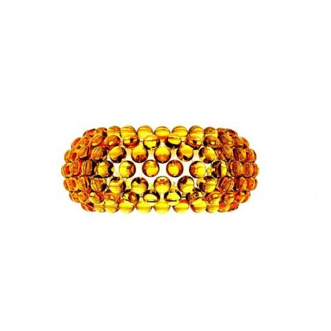 Applique CABOCHE de Foscarini petit modèle jaune
