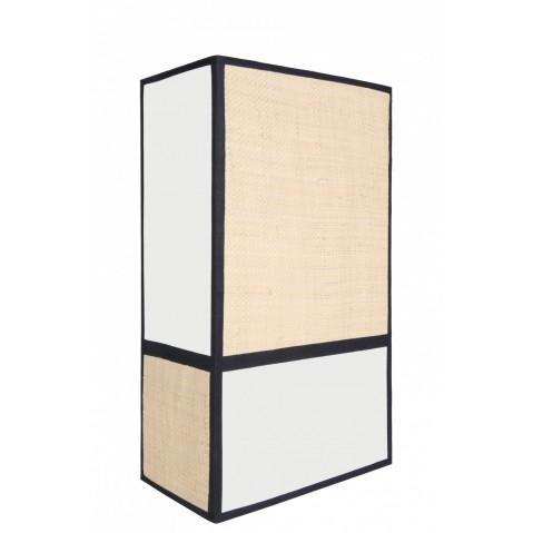 applique celeste l21 p12 h36 de sarah lavoine ecru et noir. Black Bedroom Furniture Sets. Home Design Ideas