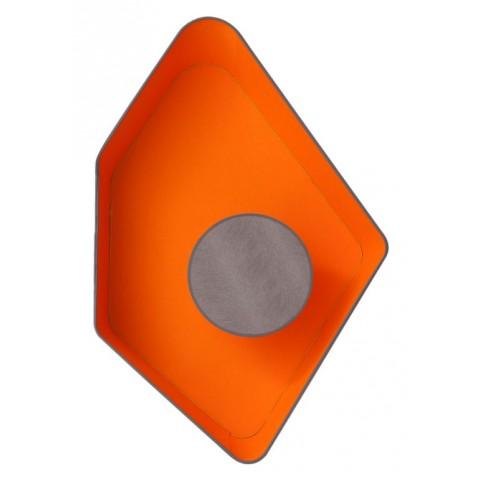 Applique GRAND NENUPHAR de Designheure, Gris-Orange