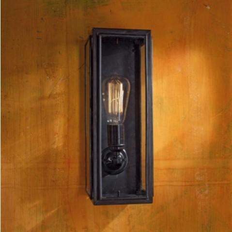 Applique Nautic ANNET bronze antique verre clair