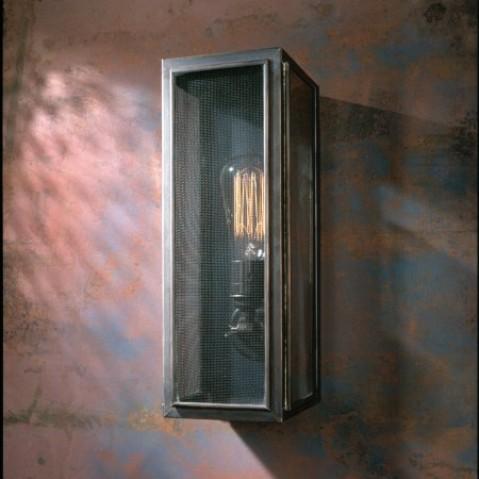 Applique Nautic ANNET GAUZE bronze antique verre clair