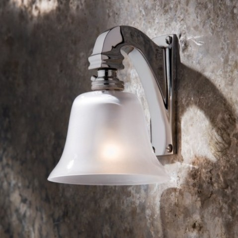 Applique Nautic BELL LIGHT bronze chromé 230V