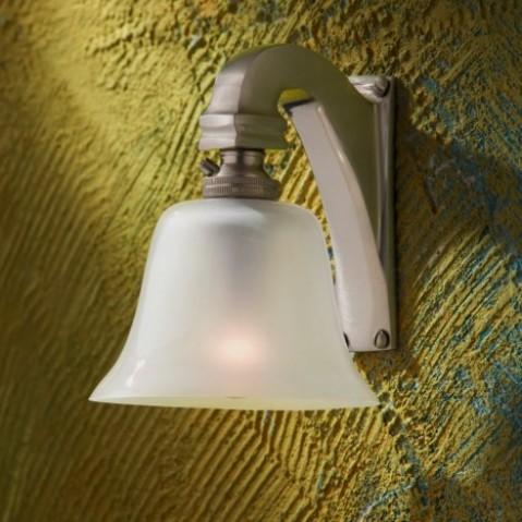 Applique Nautic BELL LIGHT bronze nickelé mat 230V
