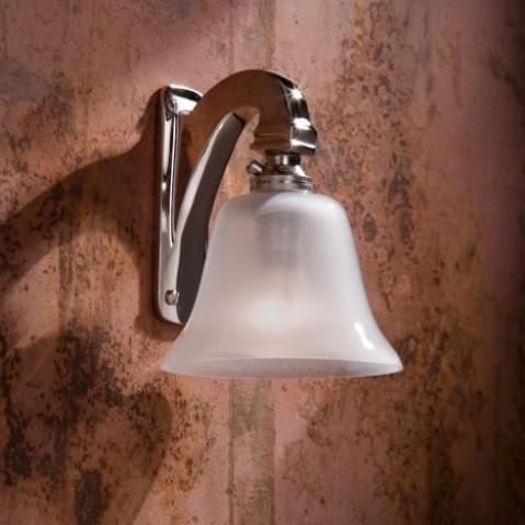 Applique Nautic BELL LIGHT bronze nickelé poli
