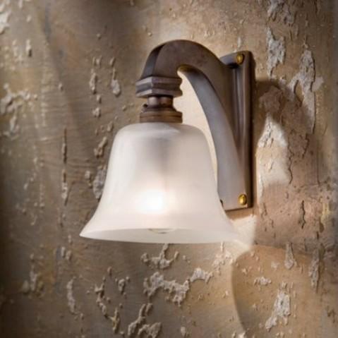 Applique Nautic BELL LIGHT bronze patiné foncé 230V