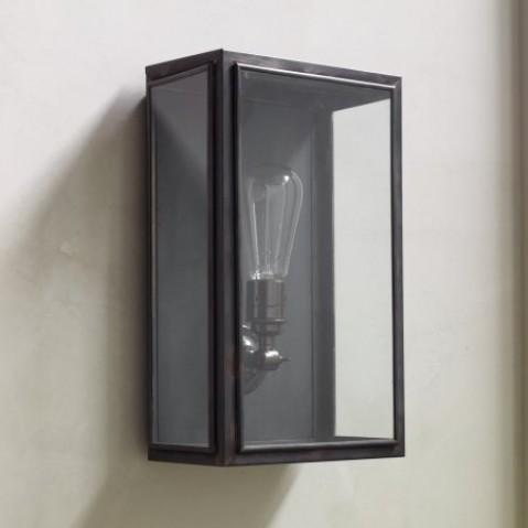 Applique Nautic ESSEX bronze antique verre clair