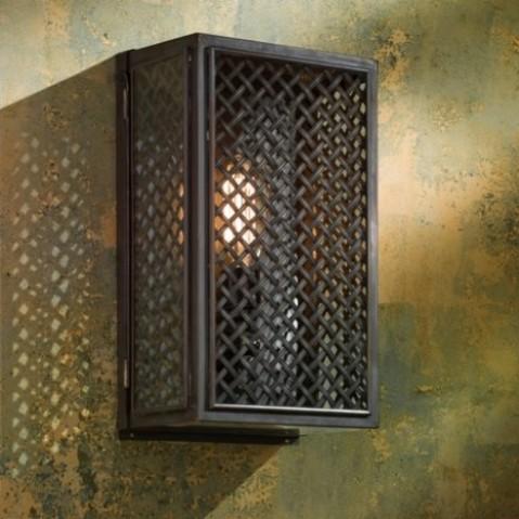 Applique Nautic ESSEX MESH bronze antique verre clair
