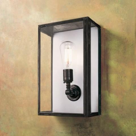 Applique Nautic ESSEX ORIGINAL bronze antique/blanc verre clair