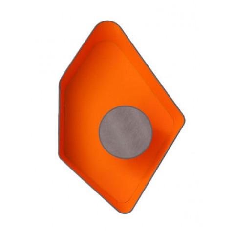 Applique PETIT NENUPHAR de Designheure, Gris-Orange