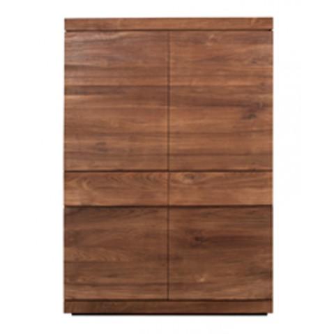 Armoire TECK BURGER d'Ethnicraft , 4 portes / 2 tiroirs