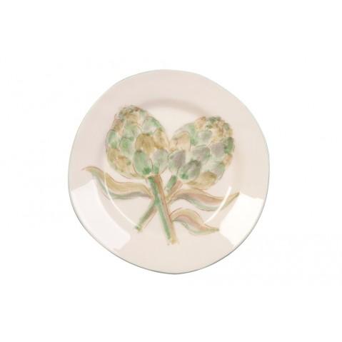 Assiette à dessert Artichaut de Flamant