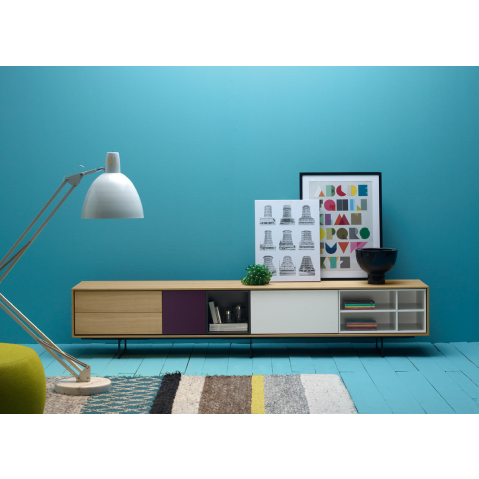 meuble tv cache tv affordable ensemble meuble tv mural copenhague coloris with meuble tv cache. Black Bedroom Furniture Sets. Home Design Ideas
