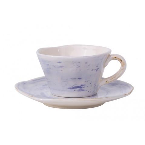 Aviano Tasse et soucoupe de Flamant, Bleu