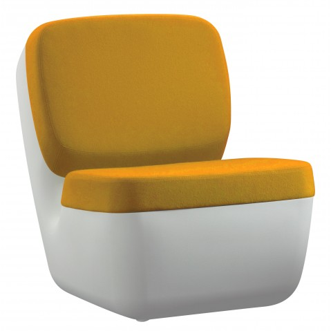 Chauffeuse NIMROD de Magis jaune