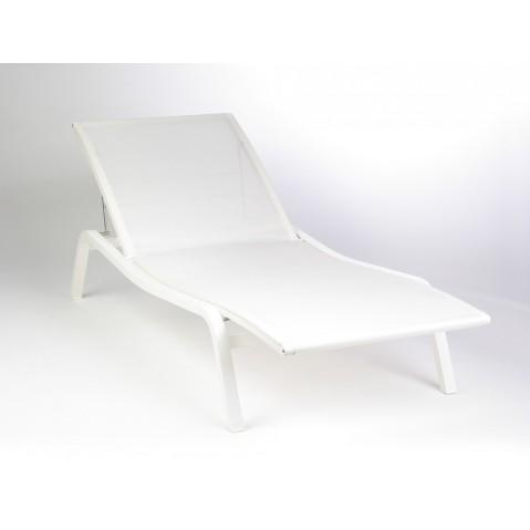 Bain de soleil ALIZÉ de Fermob blanc coton
