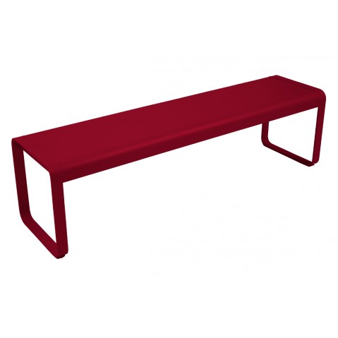Banc BELLEVIE de Fermob piment