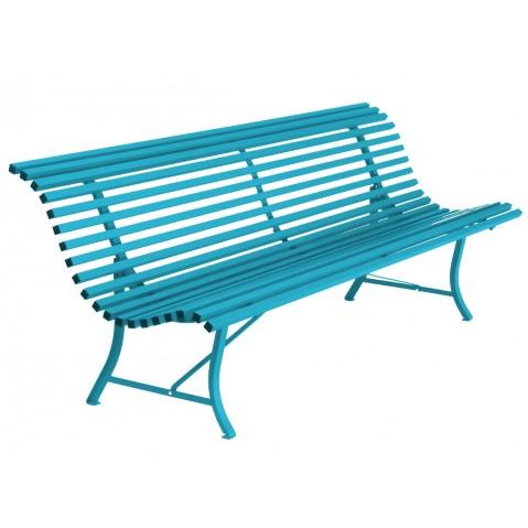 Banc LOUISIANE 200 de Fermob, Bleu turquoise