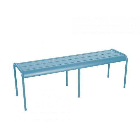Banc LUXEMBOURG de Fermob bleu turquoise