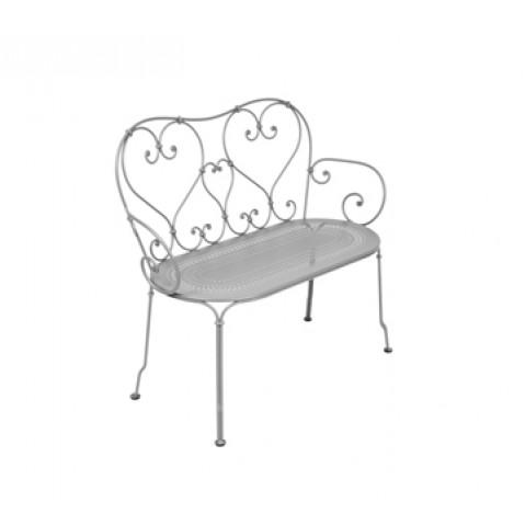 Banquette 1900 de Fermob gris métal