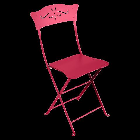 Chaise BAGATELLE de Fermob, Rose praline