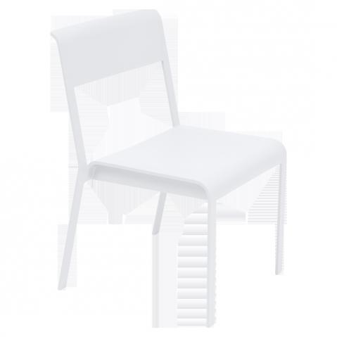 Chaise BELLEVIE de Fermob, Blanc coton