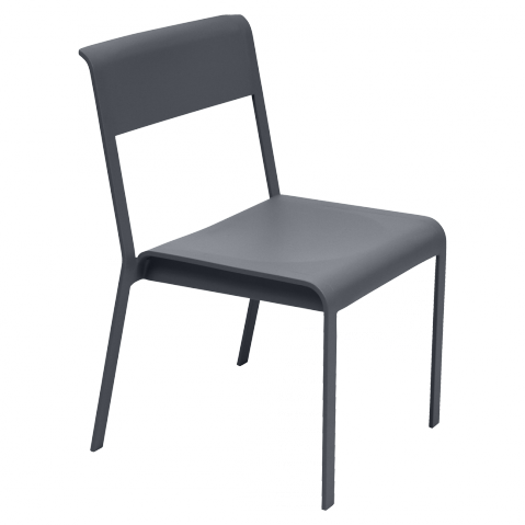 Chaise BELLEVIE de Fermob, Carbone