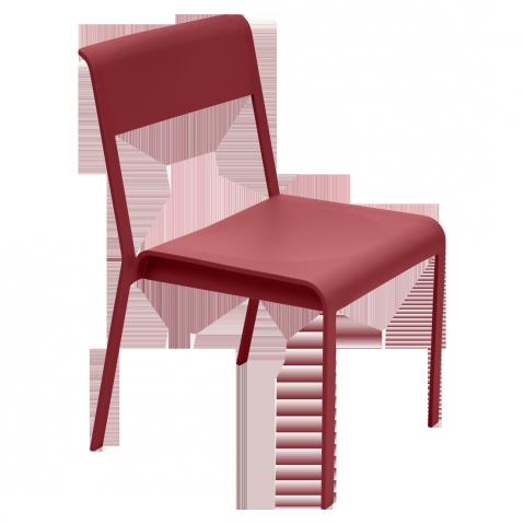 Chaise BELLEVIE de Fermob, Piment