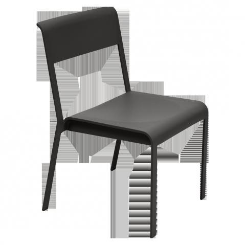 Chaise BELLEVIE de Fermob, Réglisse