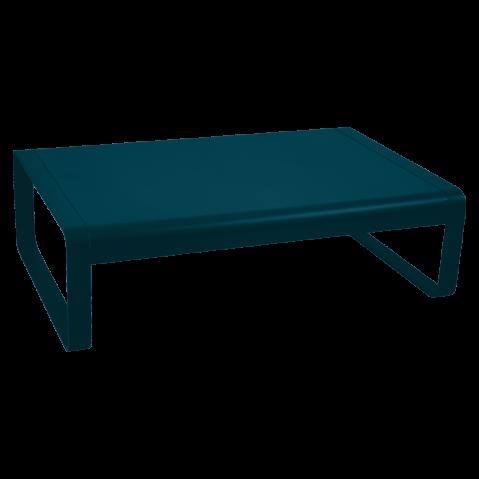 Table basse BELLEVIE de Fermob, bleu acapulco