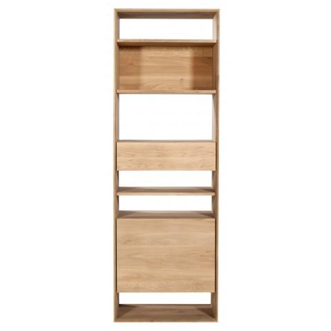 Bibliothèque OAK NORDIC d'Ethnicraft , 1 porte / 1 tiroir