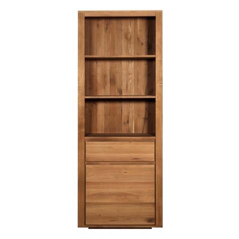 Bibliothèque OAK SHADOW d'Ethnicraft , 1 porte / 1 tiroir