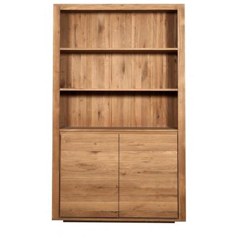 Bibliothèque OAK SHADOW d'Ethnicraft , 2 portes q p