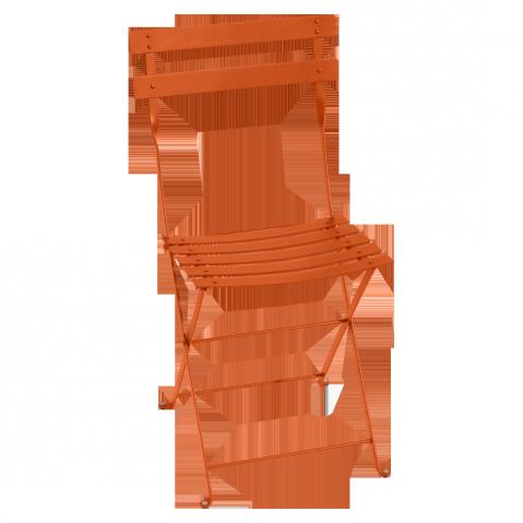 Chaise BISTRO métal de Fermob, Carotte