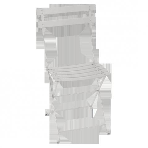 Chaise BISTRO métal de Fermob, Gris Métal