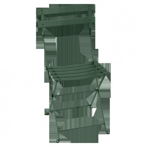 Chaise BISTRO métal de Fermob, Vert Cèdre