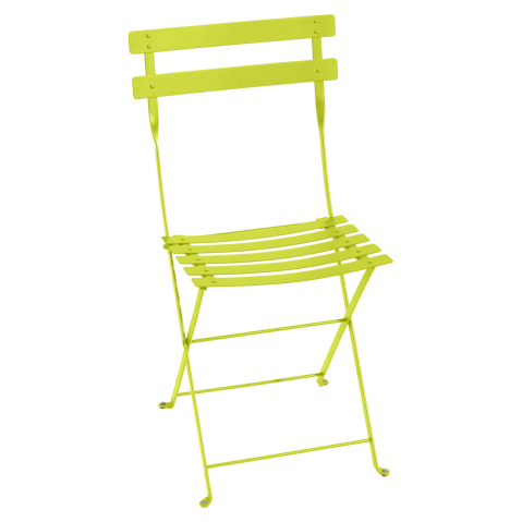 Chaise BISTRO métal de Fermob, Verveine