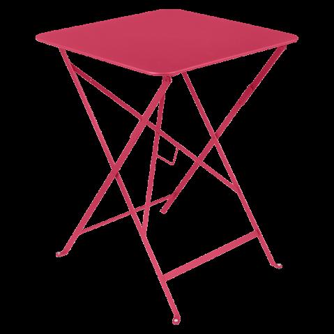 Table carrée BISTRO de Fermob, 57x57, Rose praline