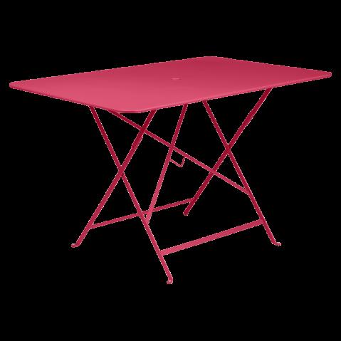 Table rectangulaire 117 x 77 cm BISTRO de Fermob, Rose praline
