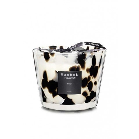 Bougie MAX 10 Black PEARLS de Baobab Collection
