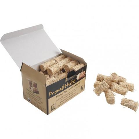 Boîte de 50 bouchons allume-feu