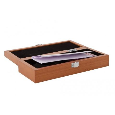 Boîtes Ives avec jeu de cartes «Cribbage» de Flamant