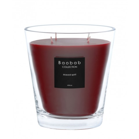 Bougie MAX 16 MASAAI SPIRIT de Baobab Collection