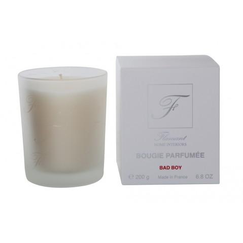 Bougies Lin parfumée «Bad Boy» de Flamant