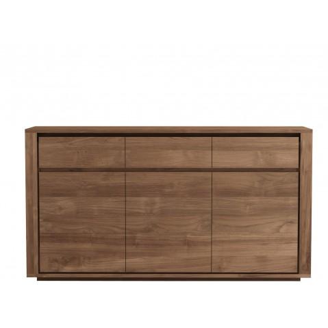 Buffet ELEMENTAL d'Ethnicraft-3 portes / 3 tiroirs