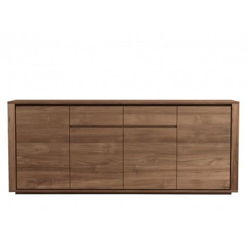 Buffet ELEMENTAL d'Ethnicraft-4 portes / 2 tiroirs