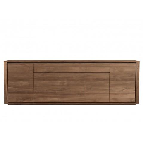 Buffet ELEMENTAL d'Ethnicraft-5 portes / 3 tiroirs