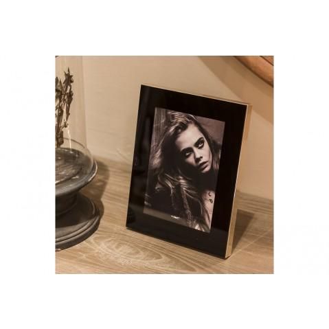 Cadre photo Nero de Flamant, Noir