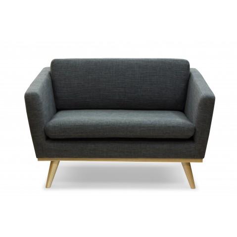 canape 120 de red edition tissu chin anthracite. Black Bedroom Furniture Sets. Home Design Ideas